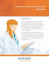 Allscripts Brochure