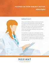 Allscripts™ Brochure