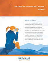 Cerner<sup>®</sup> Brochure