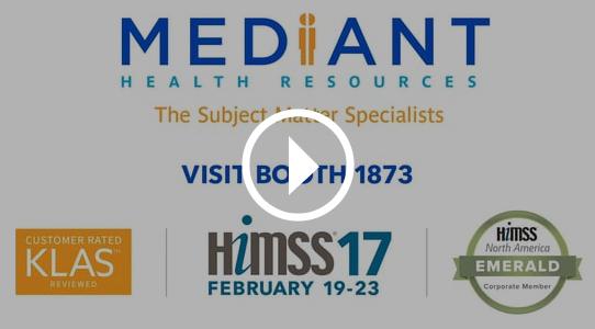Visit us at HIMSS17 booth #1873